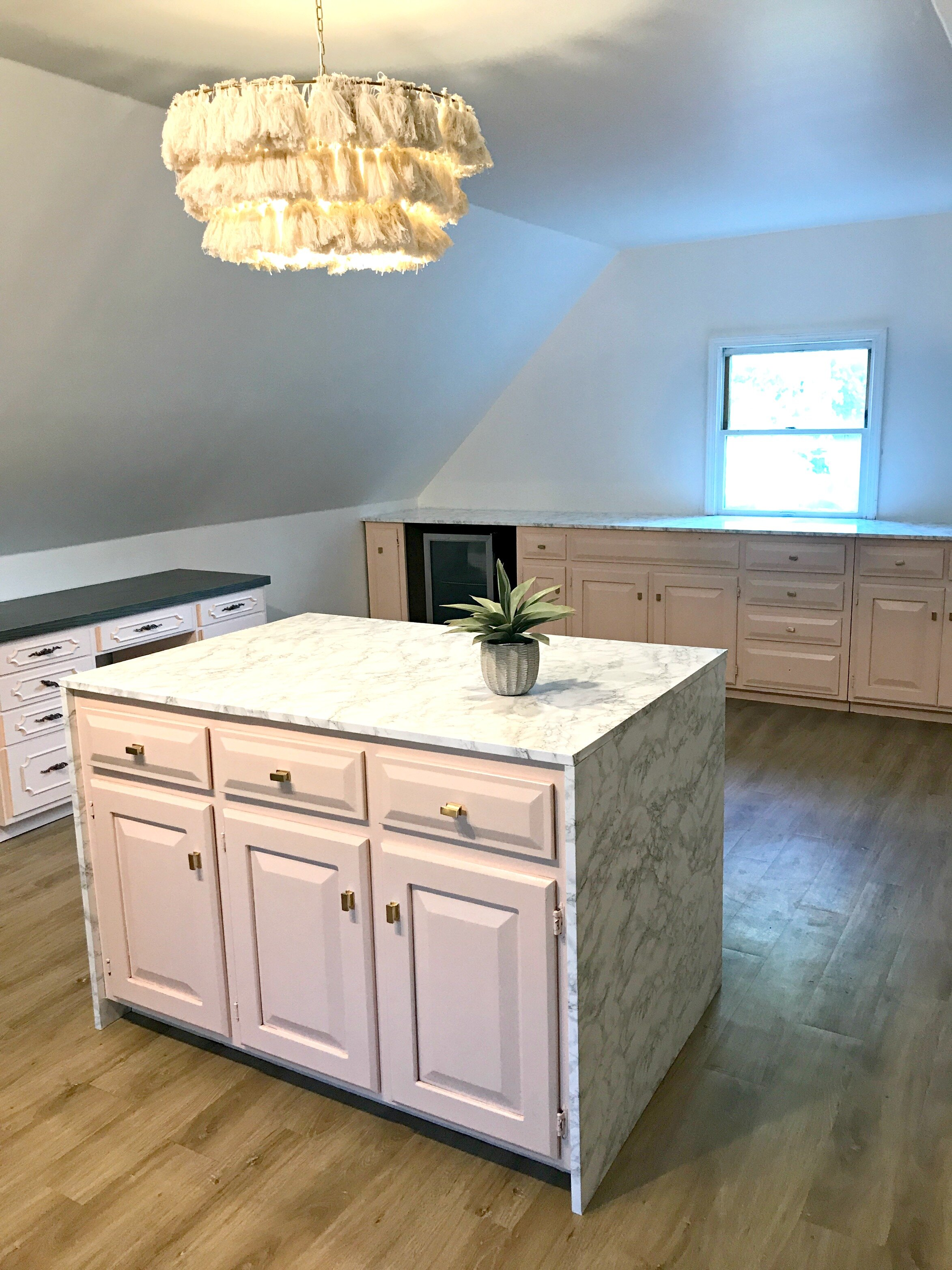 Diy Marble Look Countertops For Under 200 Gathered Living