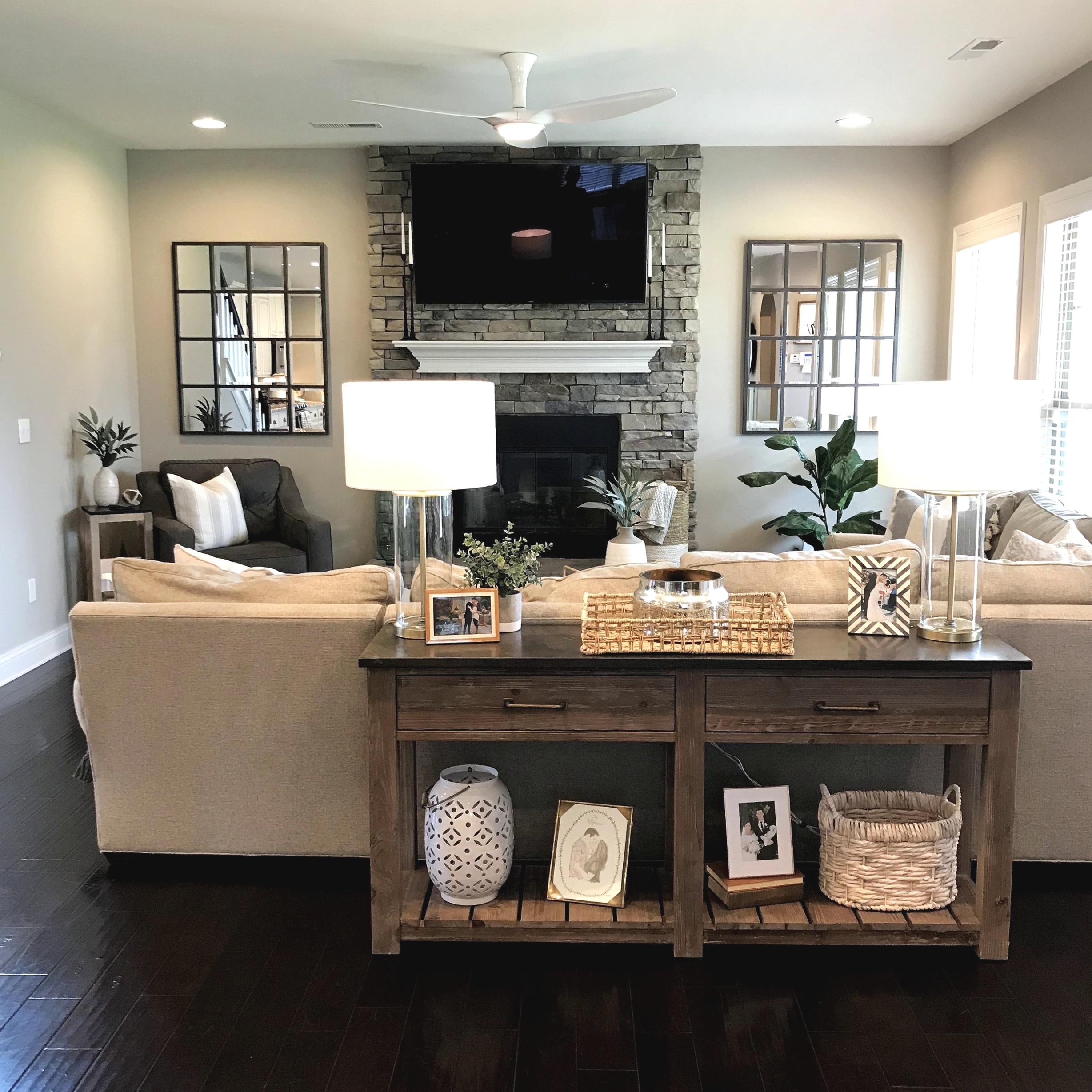 Modern Farmhouse Living Room Design — Gathered Living