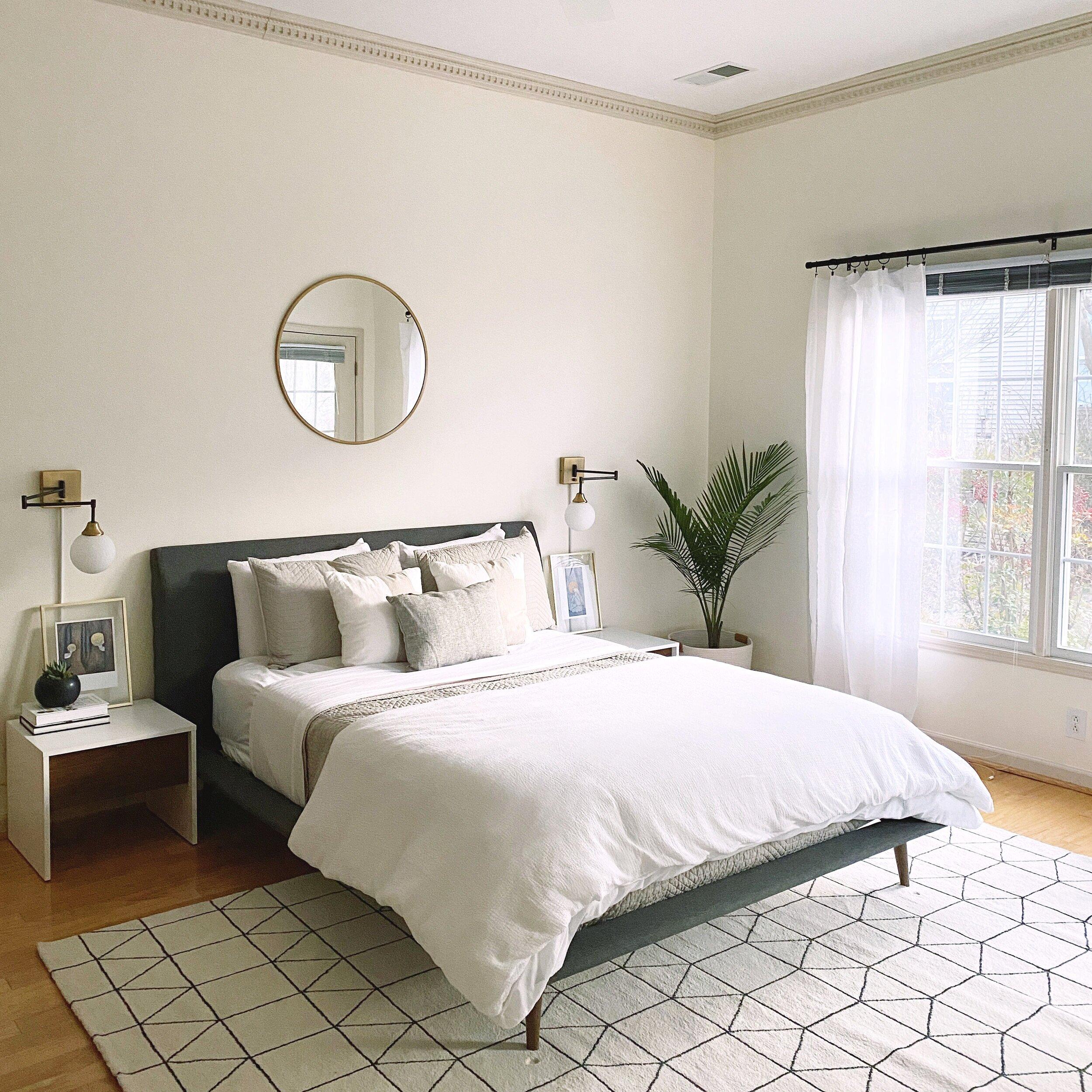 cozy bohemian bedroom — Blog — Gathered Living