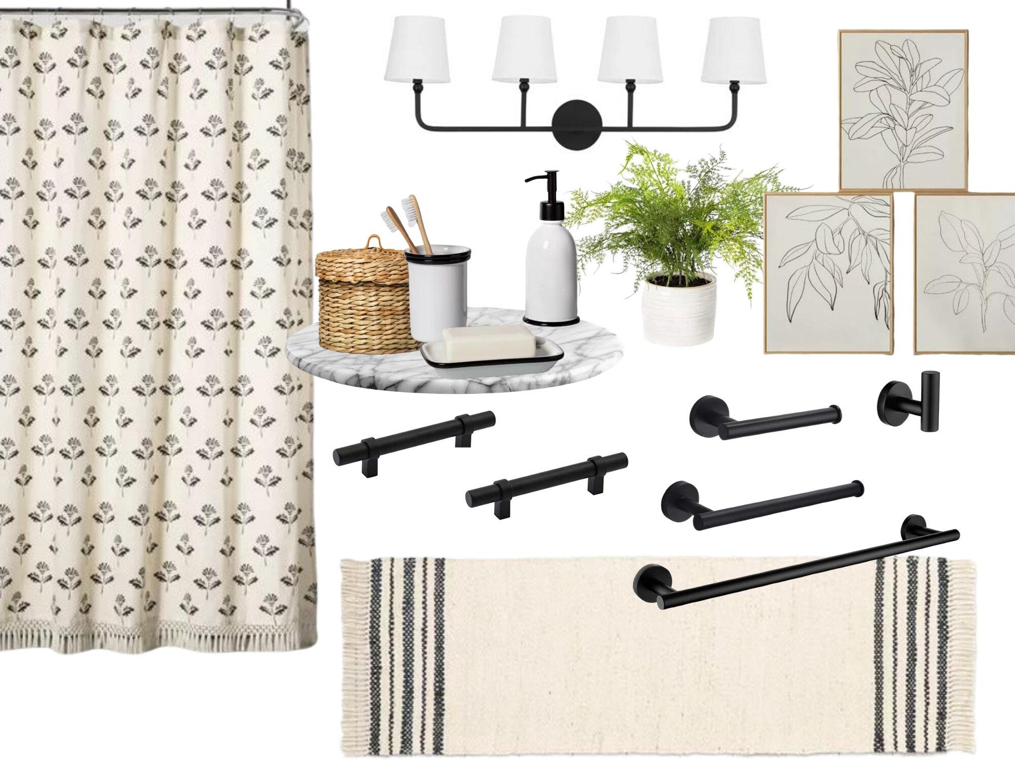 Modern Farmhouse Bathroom Decor Blog Gathered Living