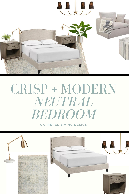 Neutral Bedroom Decor Blog Gathered Living