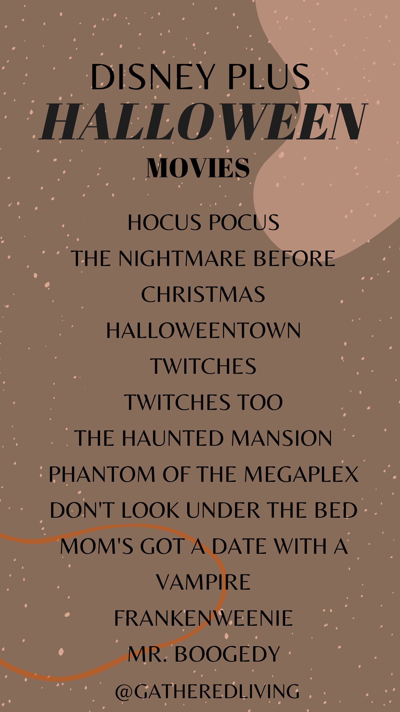 Disney Plus Halloween Tv Movies Roundup Gathered Living Claus, don't think ill of my plan. disney plus halloween tv movies