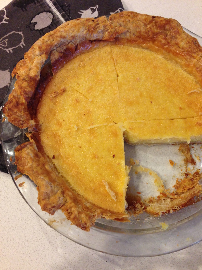Lemon Chess Pie  - my version