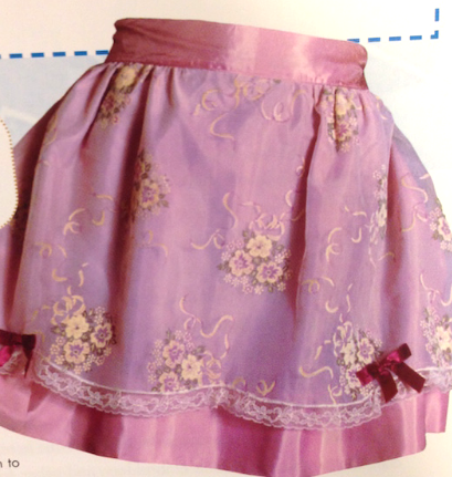 An apron to wear when entertaining on bridge night. Photo from The Apron Book - EllynAnne Geisel
