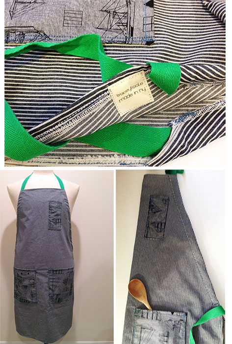 full apron collage