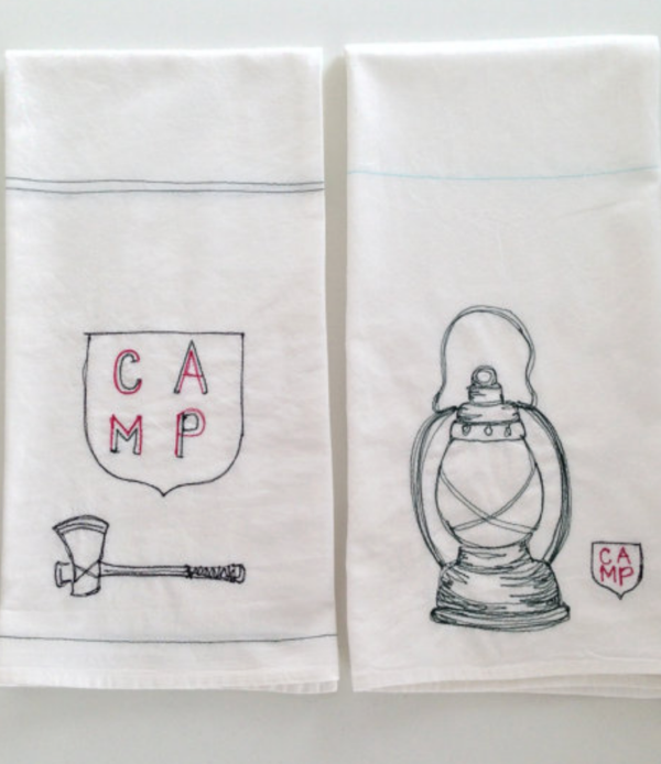 Camp Towels by Leo's Dry Goods