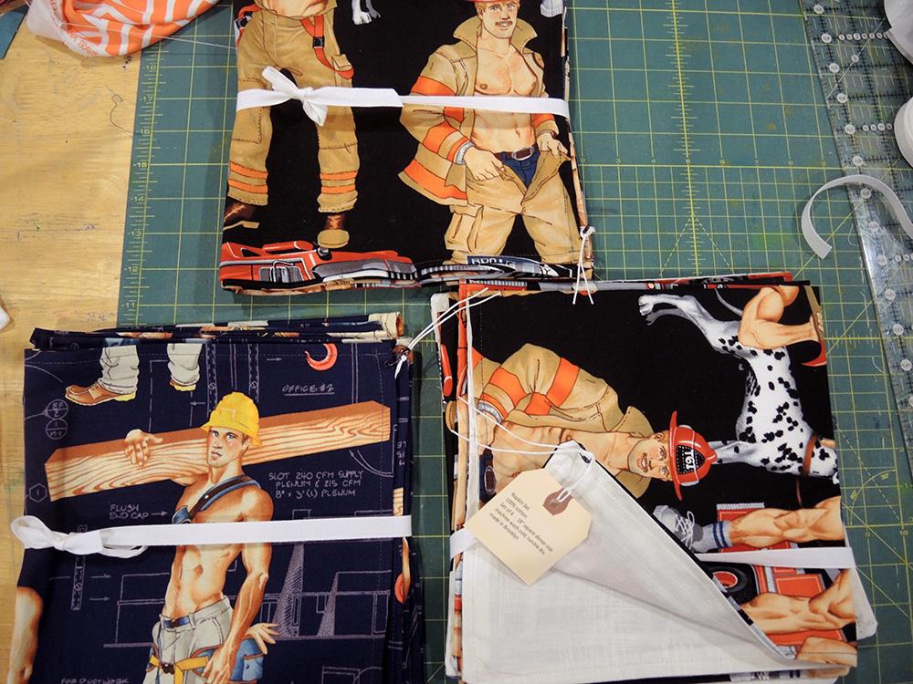 fireman napkins
