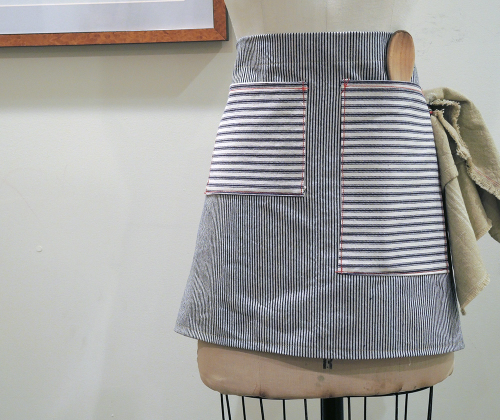 rail road cafe apron