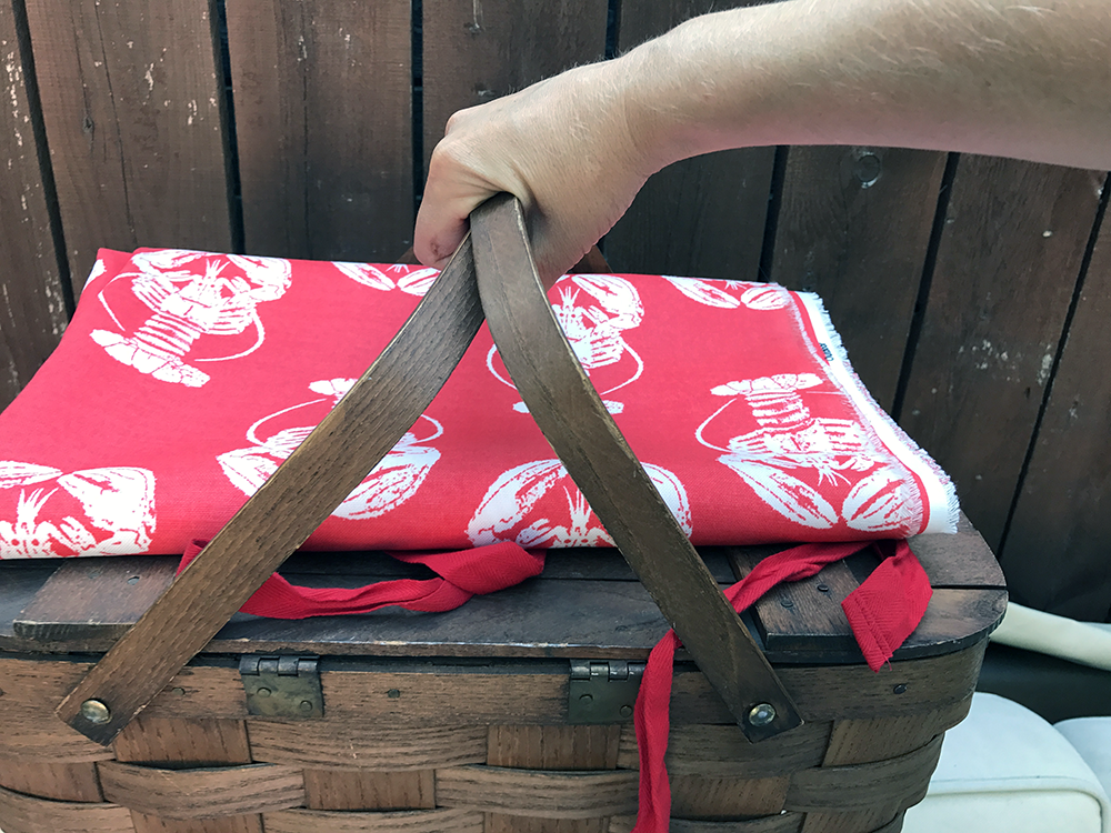 lobster picnic blanket