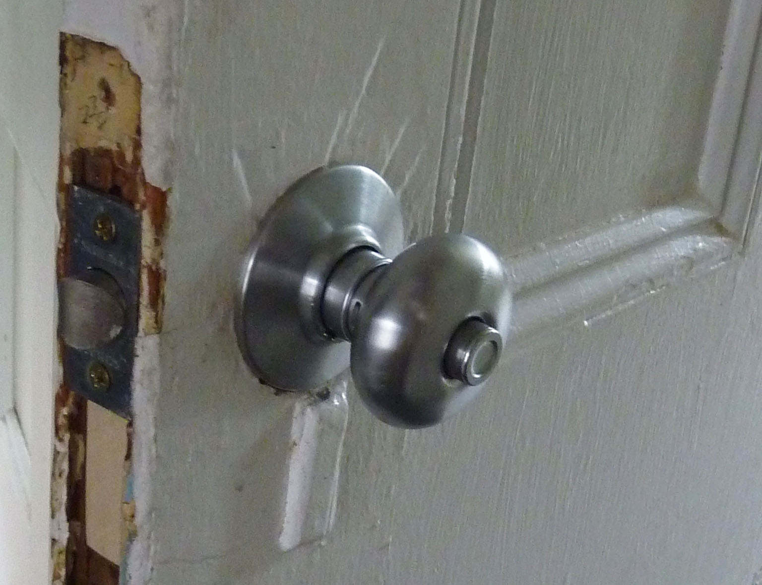 Door hardware from the Reuse Center