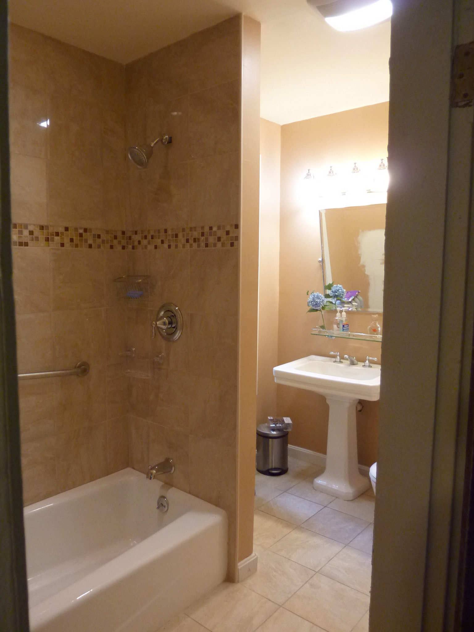 The bathroom was the starting point of Eligia's renovation.