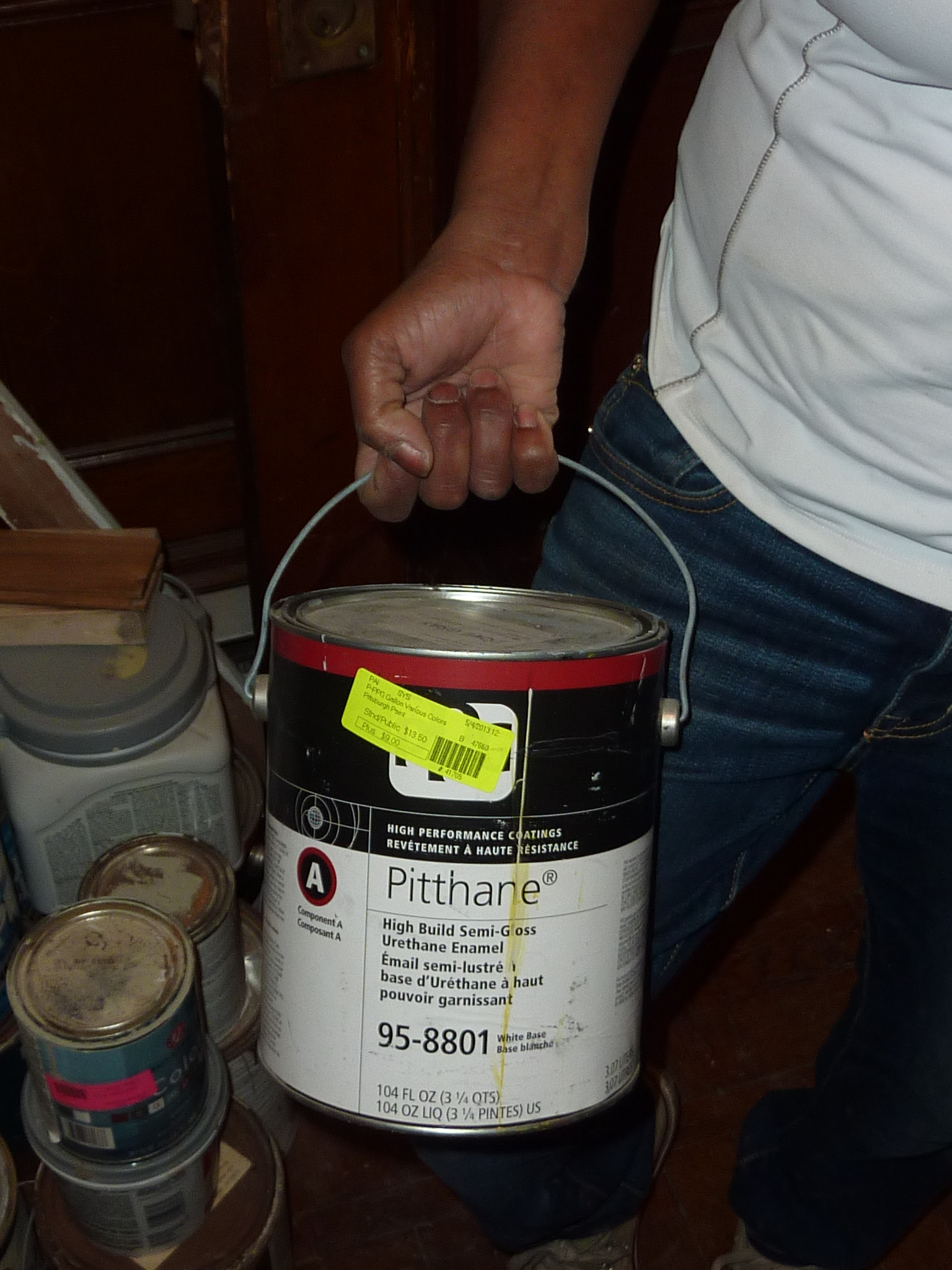 This special paint for metal and masonry was available for just a few dollars.