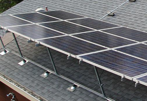 BBR's solar panels