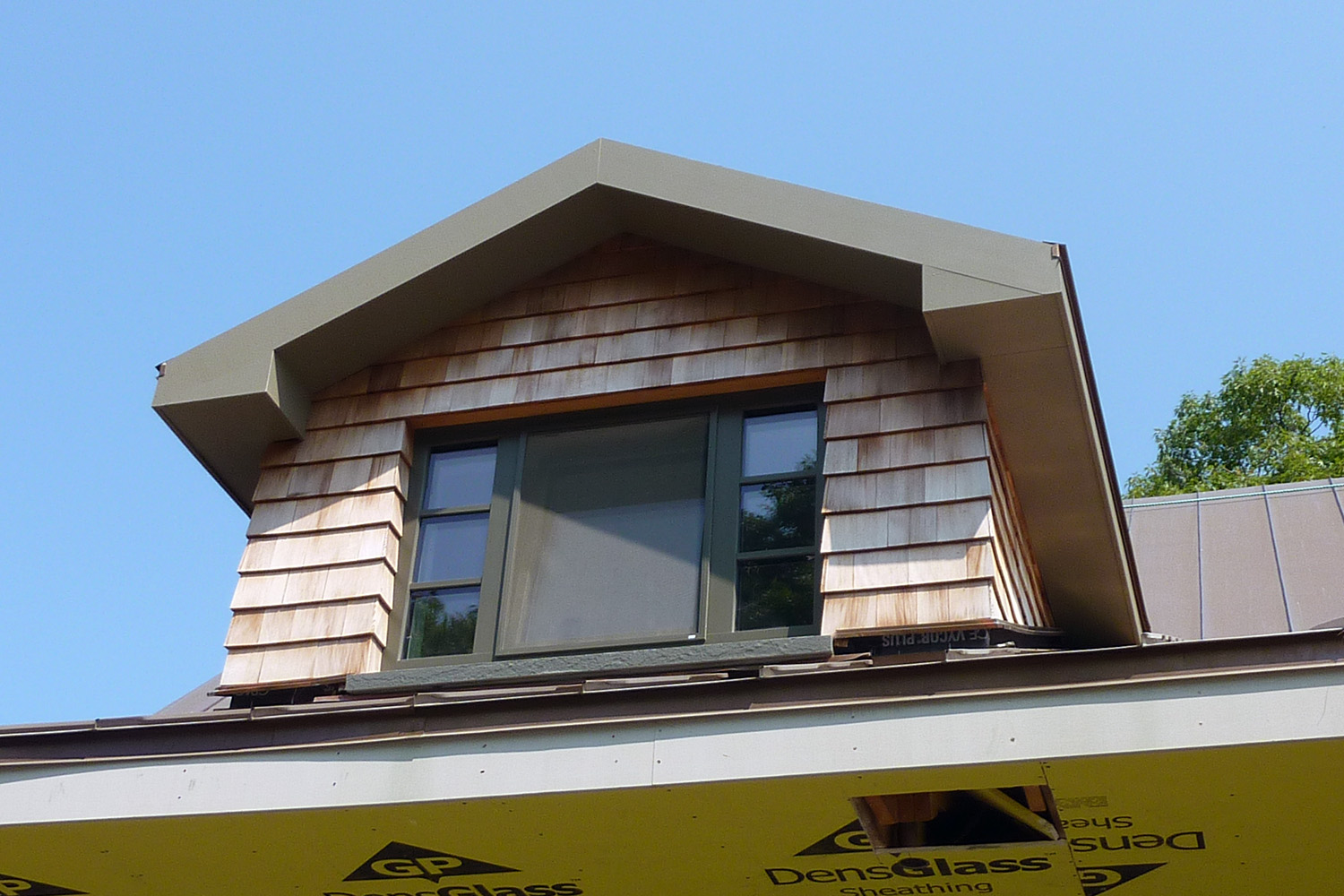 Boral trim made from recycled materials
