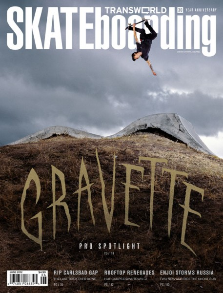 David Gravette, Klamath Falls, OR. Transworld Skateboarding. June, 2012