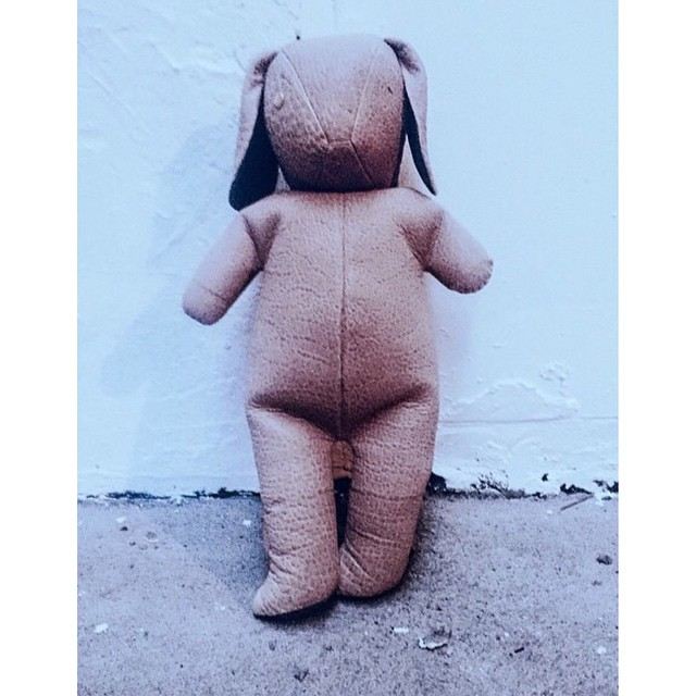 Things just got adorable.    The @dominic_louis x @mandycoon Bunny Backpack is available at ØDD!   http://odd-style.com/
