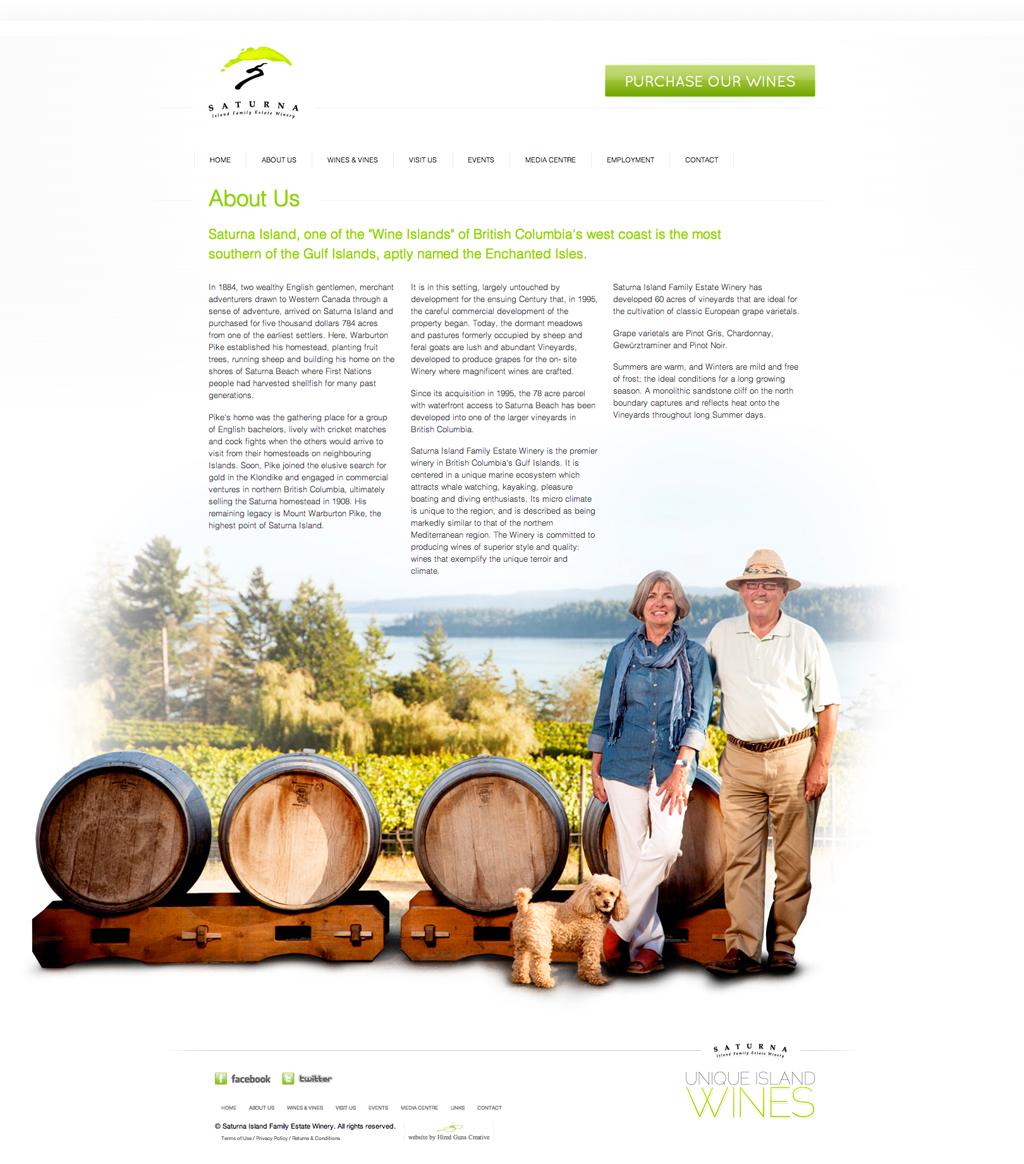 Saturna Island Family Estate Winery