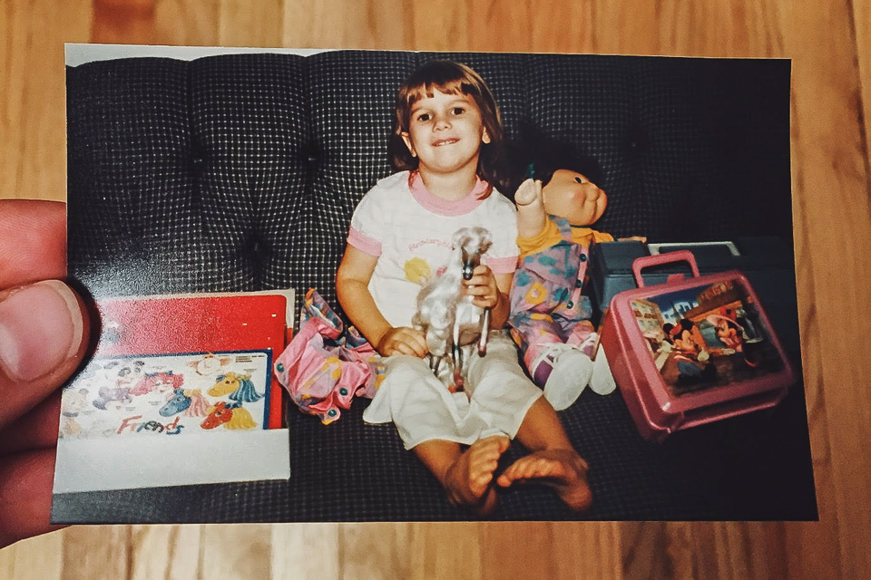 1990 was clearly my best haul ever. Minnie in Paris lunchbox, plastic horse, and my precious Cabbage Patch doll. This was one for the record books.