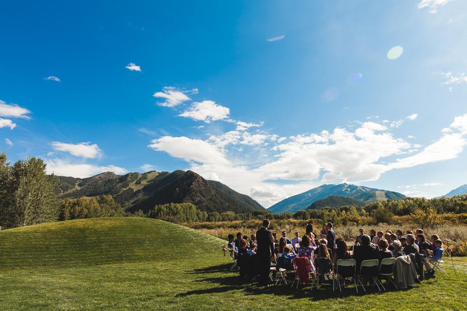 aspen colorado wedding ceremony