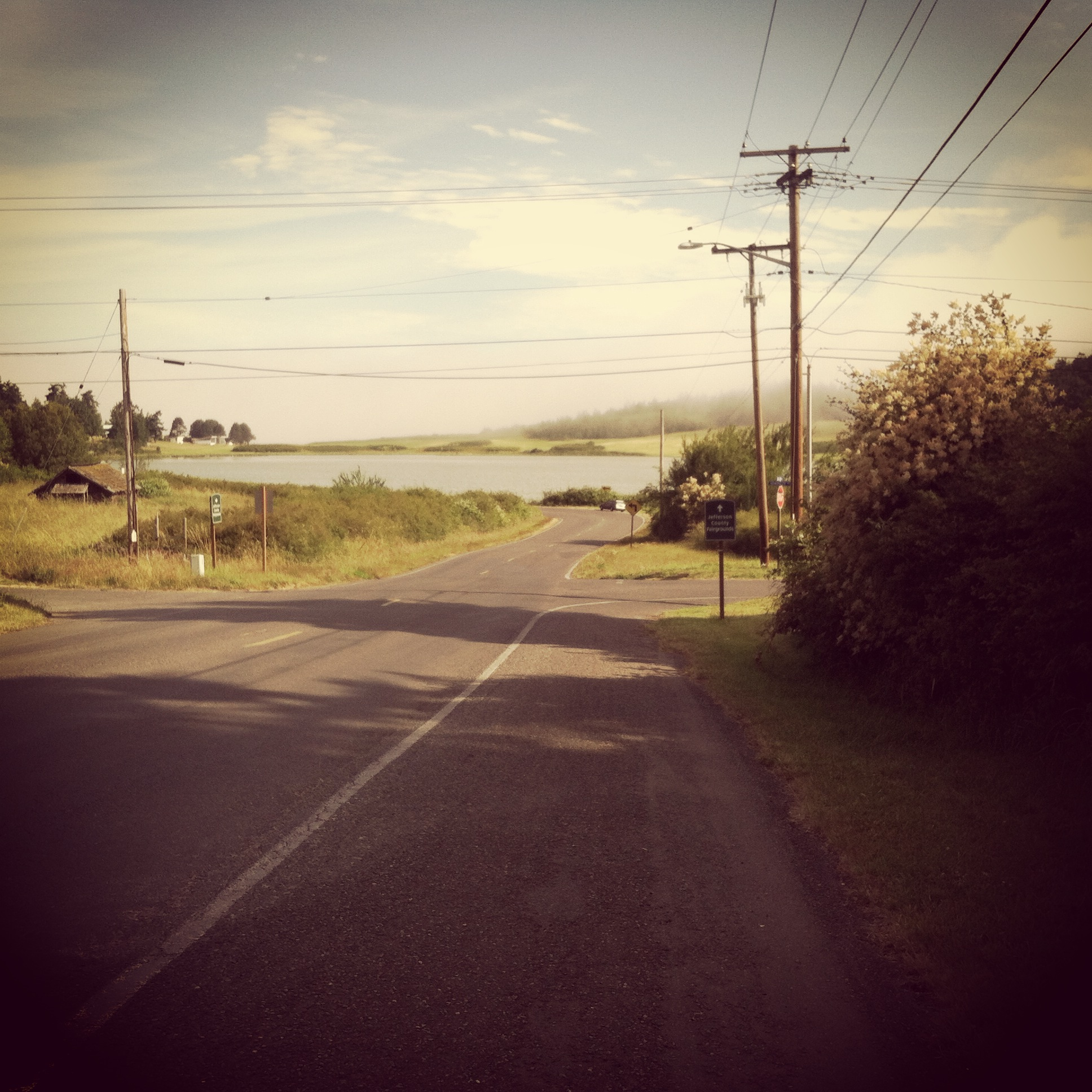I know this road Port Townsend WA