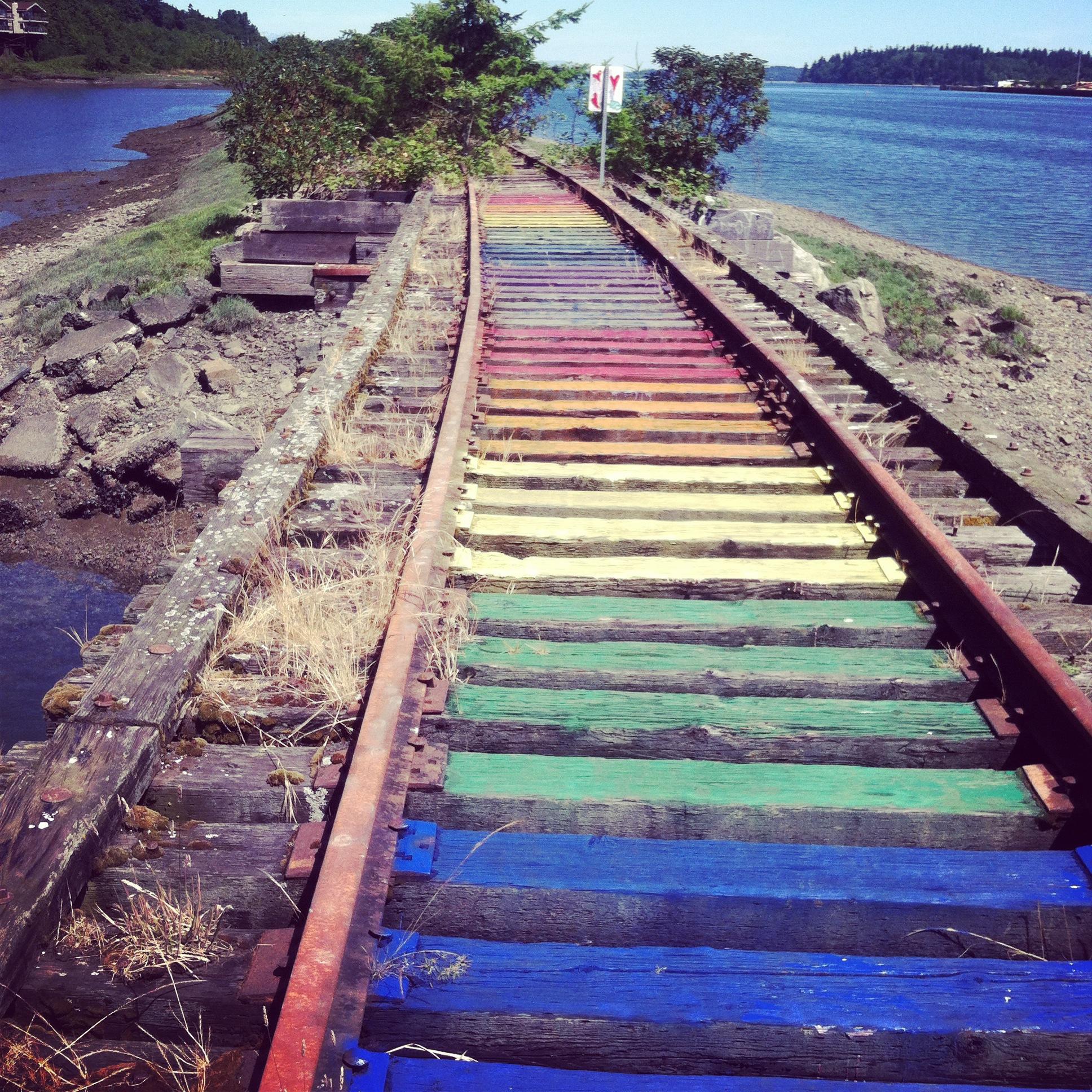 Somewhere over the rainbow (Olympia WA)
