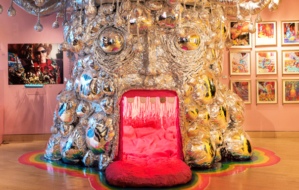 Wayne Coyne, Detail: King's Mouth  2015, Mixed media installation, Courtesy of the artist, Photo by Dan Meyers.