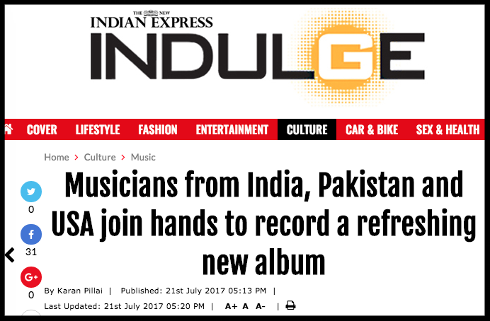 Abakis participates in Dosti - International Music Residency - Indulge 2017
