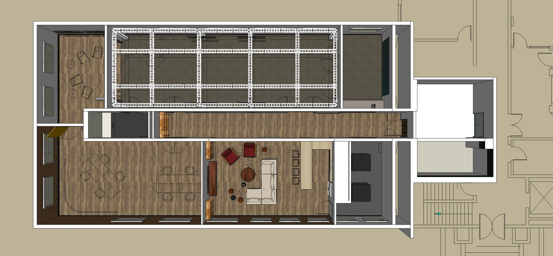 The Studio Lab floor plan
