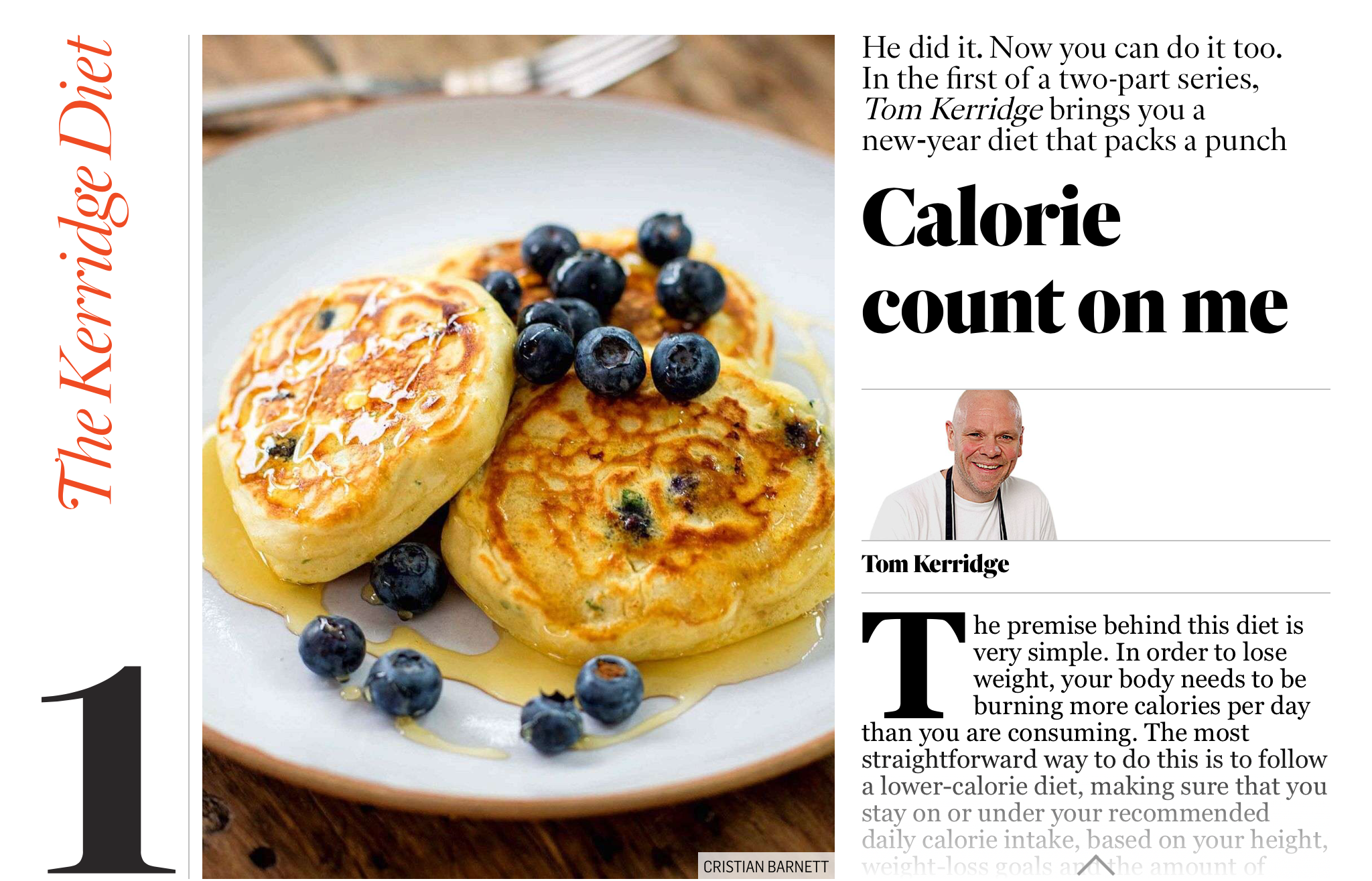 THE SUNDAY TIMES - Tom Kerridge uses SkandiHus wares in his latest cookbook - Dec 2017