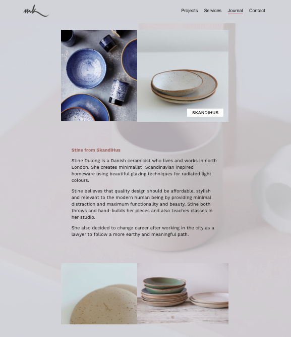 Skandihus MK Design blog