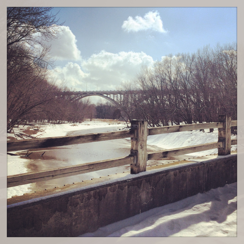 Mendota Bridge in St. Paul, Minnesota