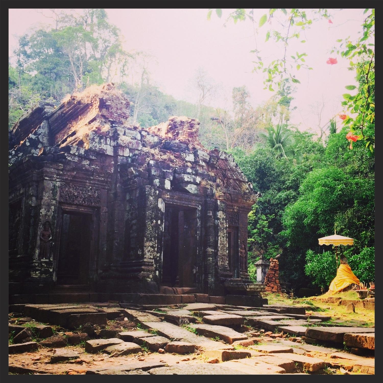 Wat Phu in Champassack, Laos