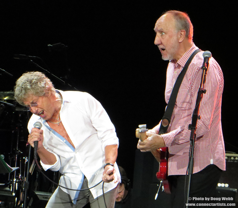 Roger Daltrey and Pete Townshend / The Who / Target Center / Minneapolis, Minnesota / November 27th, 2012 / Photo by Doug Webb