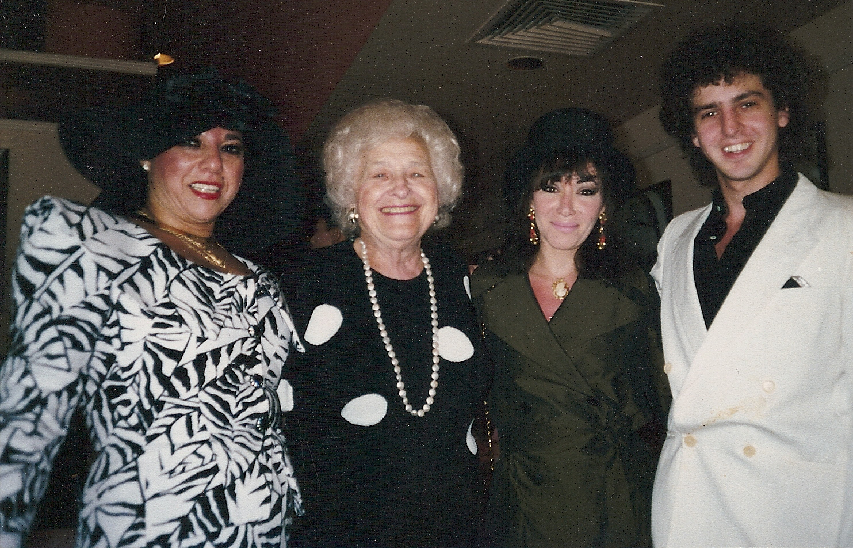 Marilyn Percansky, Beatty Rutman, Debra Rodman and Magic Marc Rudolphs / Minneapolis, Minnesota / June 10, 1990