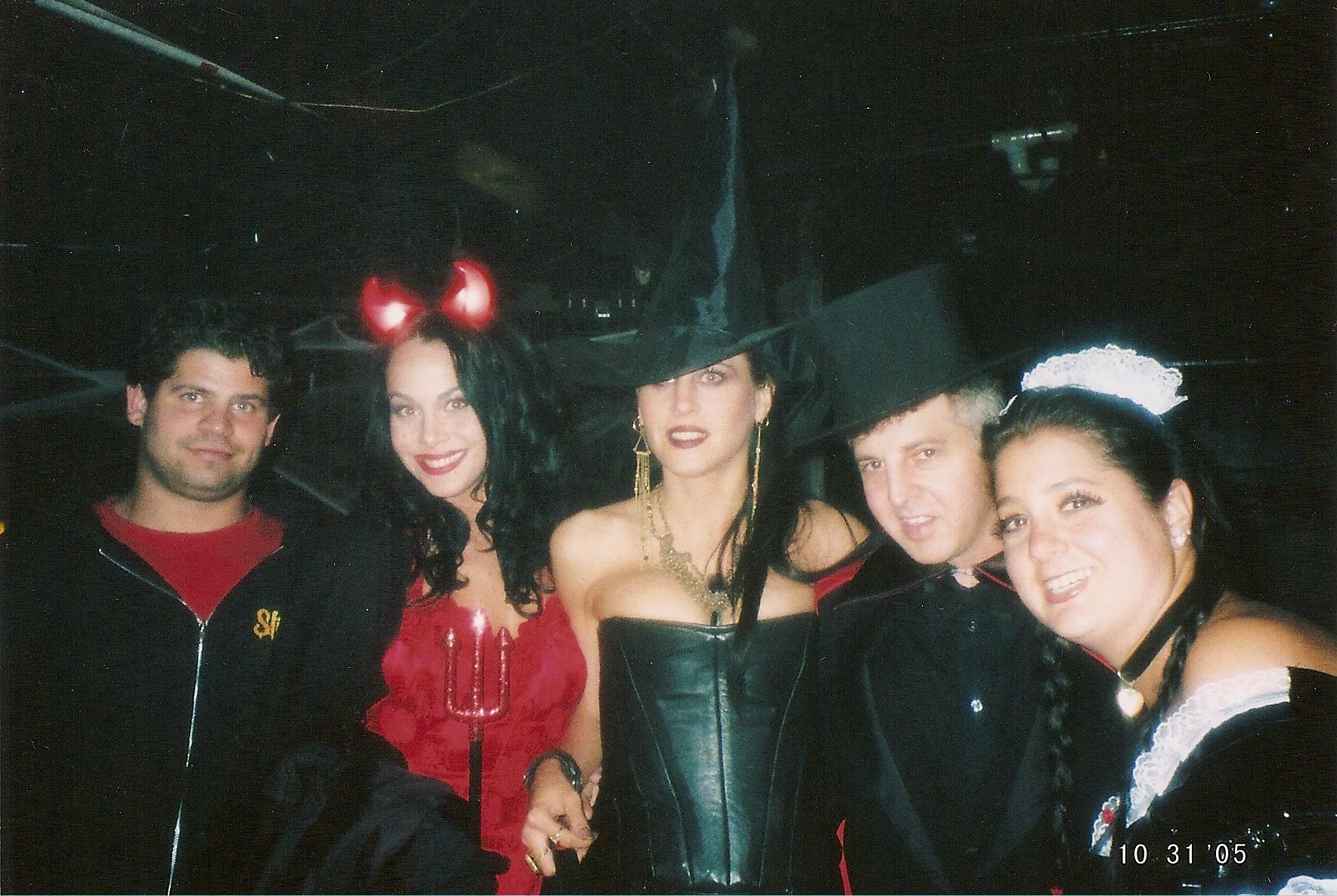 BJ Knebel, Michele Ree, Melanie Ree, Magic Marc and Romy Percansky First Avenue / Minneapolis, Minnesota / October 31, 2005