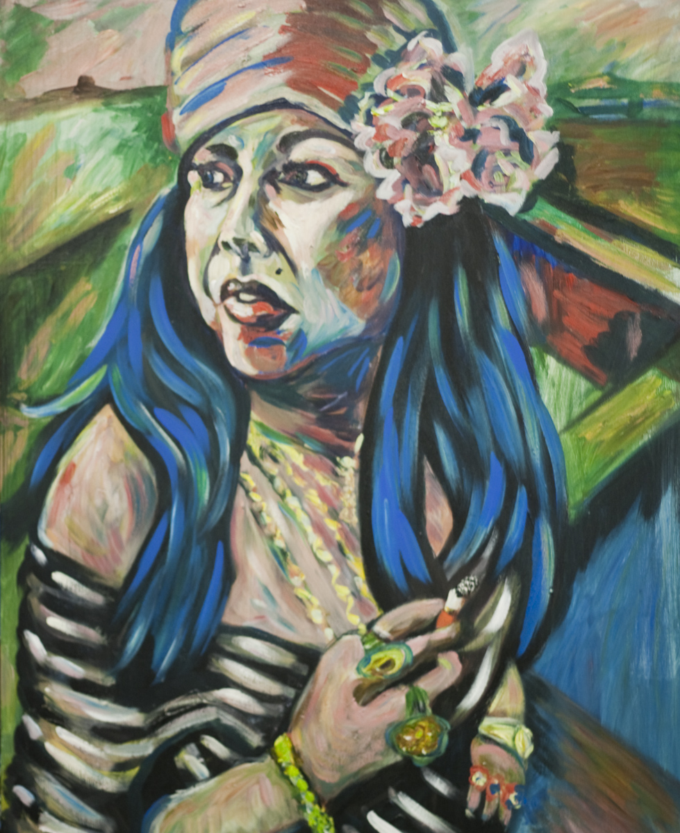 Marilyn Percansky / November 12, 2010 / 24 x 30 Acrylic Painting on Canvas by Gretchen Seichrist