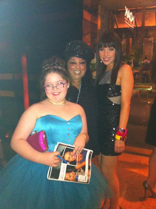 BashaGoldwater, Marilyn Percansky and Carly Rae Jepsen / Billboard Music AwardsAfter-Party / 1 Oak Nightclub / Mirage Hotel & Casino / Las Vegas, Nevada / May 20, 2012 / Photo by Lisa Goldwater
