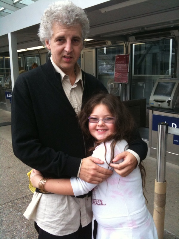 Magic Marc and Basha Goldwater / Minneapolis-St. Paul International Airport / October 6, 2009  Photo by Lisa Goldwater