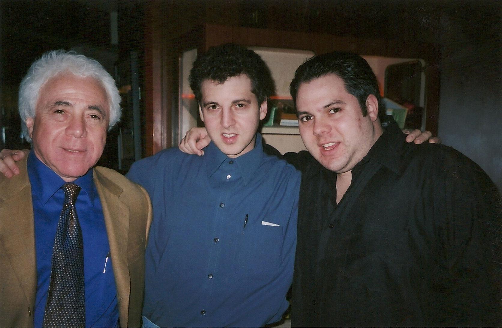 Gene Gittelson,Magic Marcand Richard Gittelson Morton's The Steakhouse / Minneapolis, Minnesota / January 31, 2002
