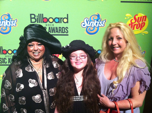 Marilyn Percansky, Basha and Lisa Goldwater / Billboard Music Awards Pre-Show Party / Marquee Ballroom / MGM Grand Hotel & Casino / Las Vegas, Nevada / May 19, 2012