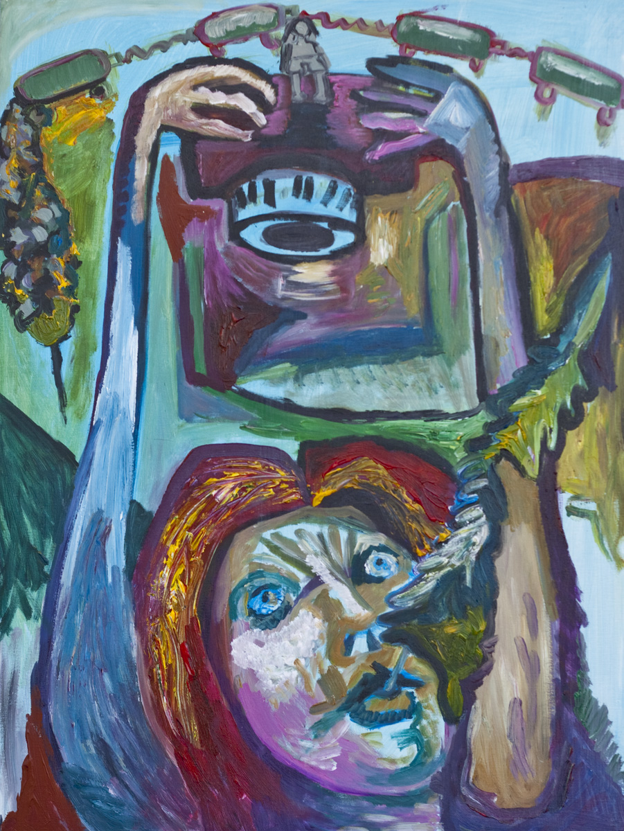 Gretchen Seichrist / October 10, 2010 / 30 x 40 Acrylic Painting on Canvas by Gretchen Seichrist