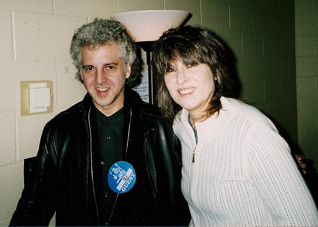 Magic Marc & Chrissie Hynde  Backstage at Xcel Energy Center / St. Paul, Minnesota / December 8, 2006