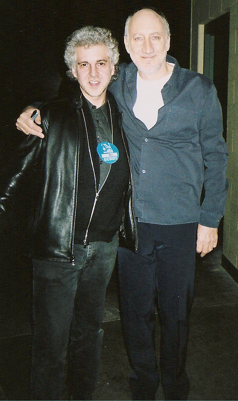 Magic Marc & Pete Townshend  Backstage at Xcel Energy Center / St. Paul, Minnesota / December 8, 2006