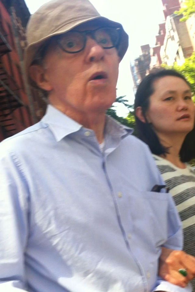 Woody Allen and Soon-Yi Previn / 3rd Avenue and East 79th Street / New York City, New York / May 17th, 2013 / Photo by Lisa Goldwater