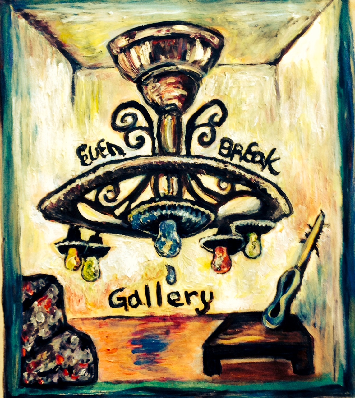 Even Break Gallery / February 10th, 2014 / Painting by Gretchen Seichrist