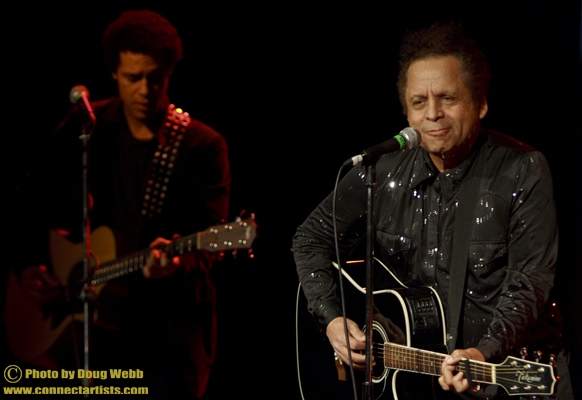 Garland   Jeffreys  and Gabe Gordon/The  Ritz  Theater/ Minneapolis, Minnesota/January 20, 2012