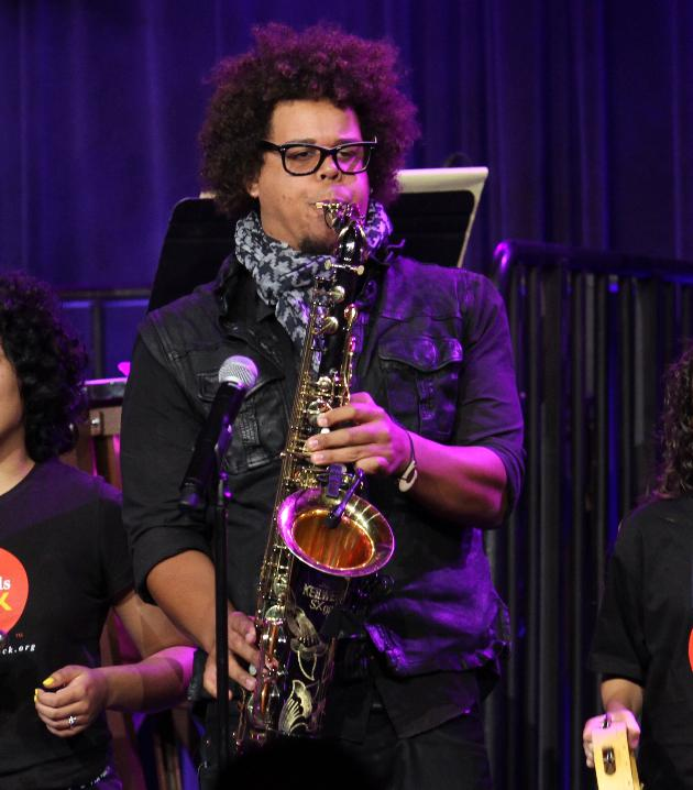 Jake Clemons performed in New York last month.