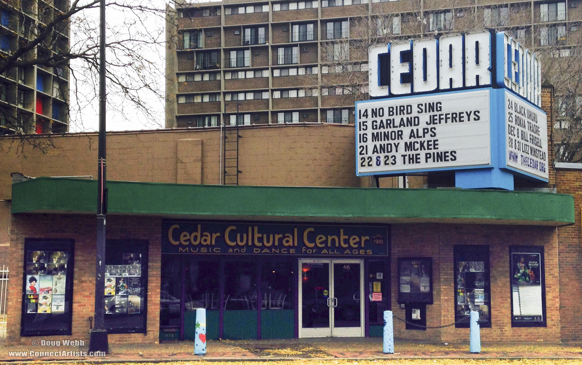 Outside The Cedar Cultural Center / Minneapolis, Minnesota / Friday, November 14th, 2013