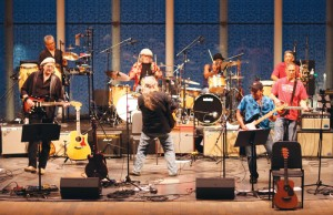 Musicians perform a Bob Dylan song. The Salute to the Music of Bob Dylan returns to Maple Grove and St. Louis Park this year. (Submitted photo)