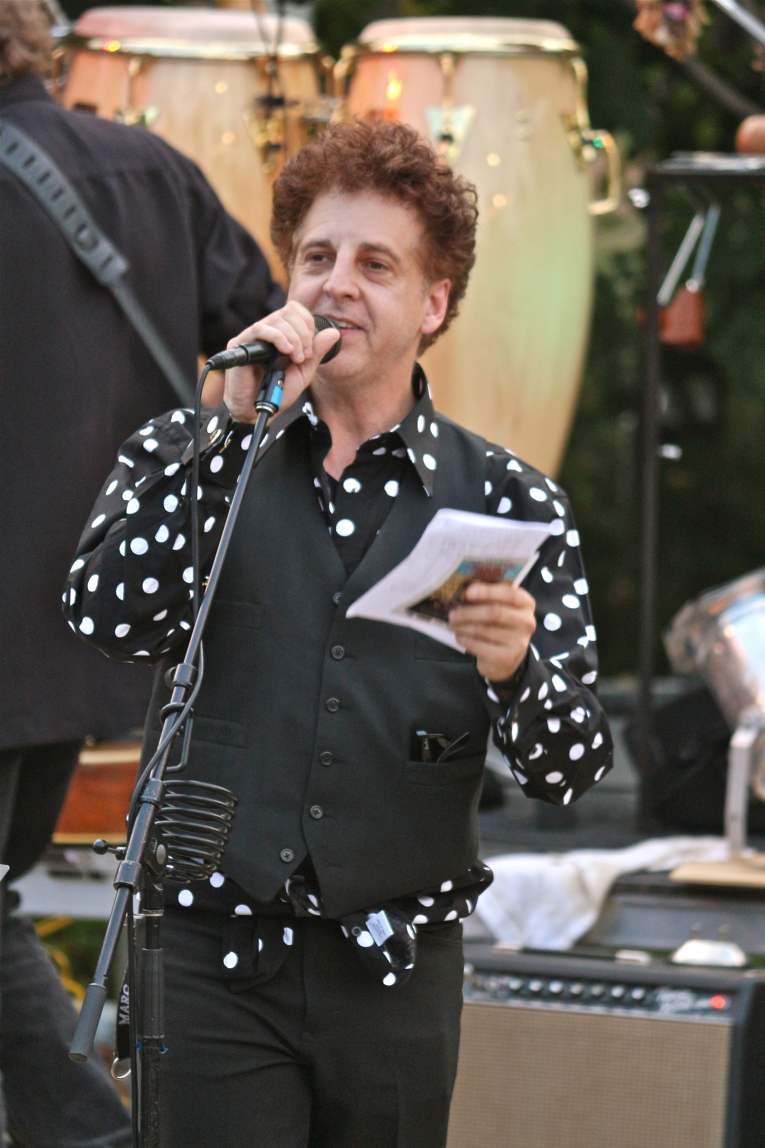Magic Marc / Salute to the Music of Bob Dylan / The Veterans' Memorial Wolfe Park Amphitheater / St. Louis Park, Minnesota / August 9th, 2014 / Photo by Jeff Miletich